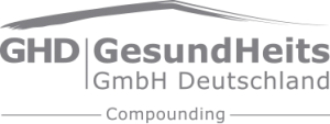 GHD Compounding Logo in grau